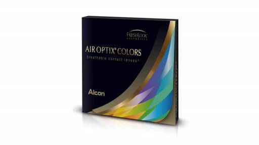Alcon - Air Optix Colors vert émeraude - sans correction