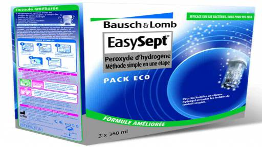Bausch & Lomb - Easysept pack eco 3x360ml
