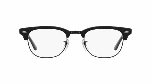 Clubmaster Ray Ban - RX5154 - Noir