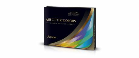 Air Optix Colors bleu azur - sans correction